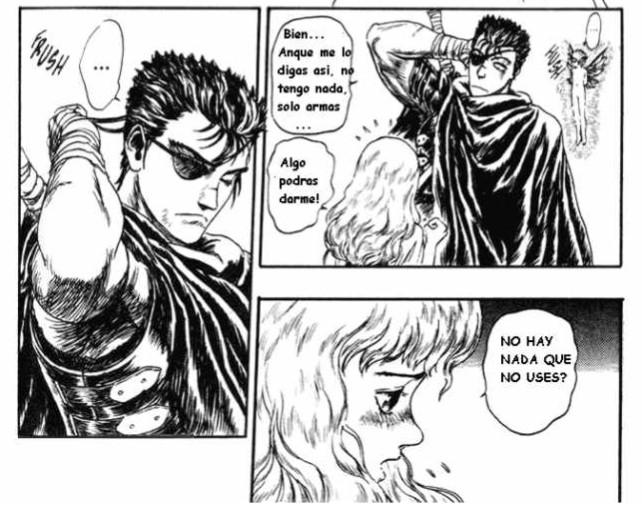 Poniéndolo así, Guts le pudo responder a Fricka regalándole su cerebro.